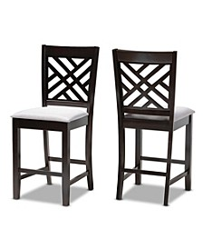 Caron Pub Chair Set, Set of 2
