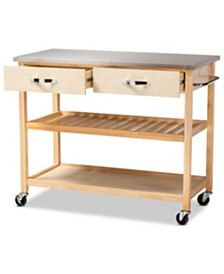 Cresta Kitchen Island, Quick Ship