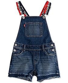 Little Girls Cotton Denim Shortall