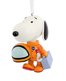 Peanuts NASA Astronaut Snoopy Christmas Ornament