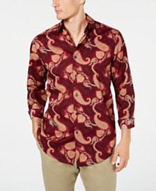 Tasso Elba Men's Rocolo Paisley Shirt, Created for Macy's