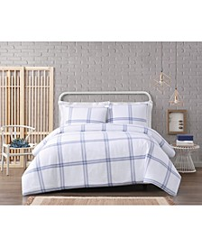 Modern Charm Cotton 3 Piece King Comforter Set