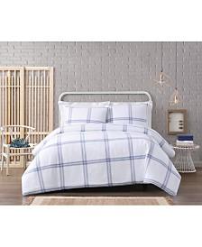 Cottage Classics Modern Charm Cotton 3 Piece King Comforter Set