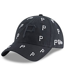 New Era Women's Pittsburgh Pirates Logo Scatter Adjustable 9TWENTY Cap