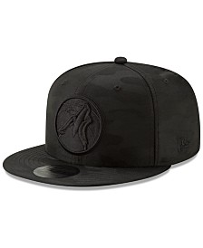 New Era Minnesota Timberwolves Blackout Camo 9FIFTY Cap