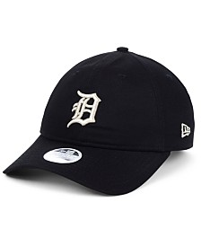 New Era Women's Detroit TigersFoil Script Hook 9TWENTY Strapback Cap