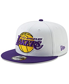 Los Angeles Lakers White XLT 9FIFTY Cap