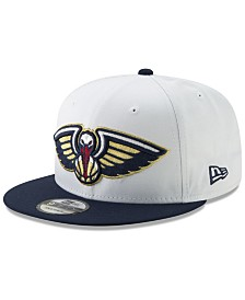 New Era New Orleans Pelicans White XLT 9FIFTY Cap