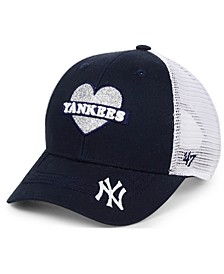 Girls' New York Yankees Sweetheart Meshback MVP Cap
