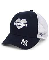 low priced 56885 f6b6e  47 Brand Girls  New York Yankees Sweetheart Meshback MVP Cap