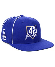 Los Angeles Dodgers Jackie Robinson 42 Team Snapback Cap