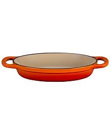 "8"" Cast Iron Oval Baker"