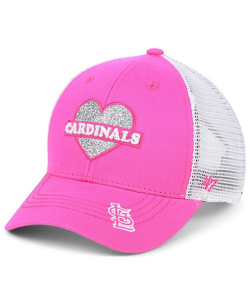 '47 Brand Girls' St. Louis Cardinals Sweetheart Meshback MVP Cap