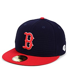 New Era Boston Red Sox Cooperstown Flip 59FIFTY Fitted Cap
