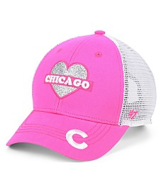 '47 Brand Girls' Chicago Cubs Sweetheart Meshback MVP Cap