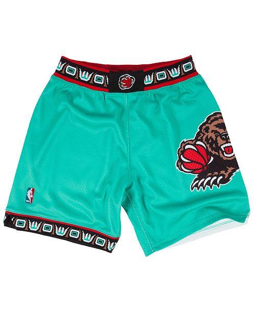 Mitchell & Ness Big Boys Vancouver Grizzlies Swingman Shorts