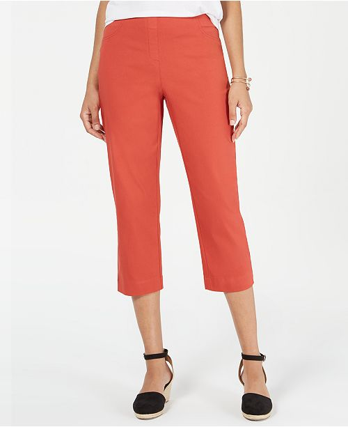 720b872f62c55f Style & Co Pull-On Capri Pants, Created for Macy's & Reviews - Pants ...