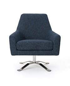 Ailia Swivel Chair, Quick Ship