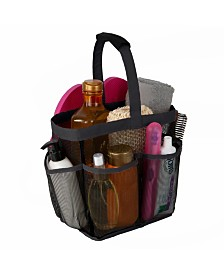 Simplify 7 Compartment Mesh Shower Tote Caddy