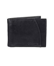 RFID Extra-Capacity Slimfold Men's Wallet