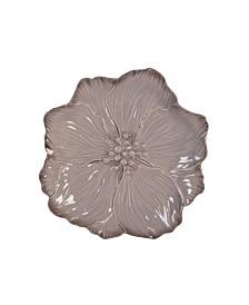 Fitz & Floyd  Farmstead Home Flower Accent Plate