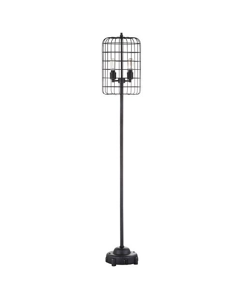 JONATHAN Y Odette Industrial Metal Floor Lamp