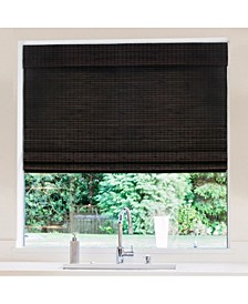 Cordless Bamboo Privacy Weave Shade