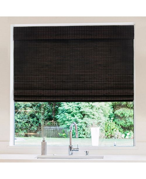 "RADIANCE Cordless Bamboo Privacy Weave Shade, 30"" x 64"""
