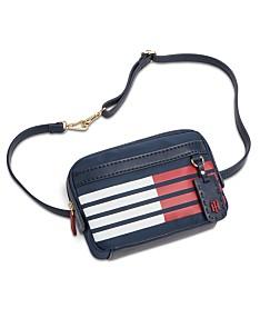 6f686cc4 Tommy Hilfiger Julia Flag Convertible Belt Bag