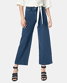 Joe's Jeans High-Rise Wide-Leg Cropped Jeans