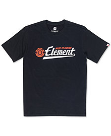 Element Men's Signature Logo Graphic T-Shirt