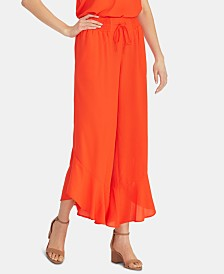 RACHEL Rachel Roy Ruffled Cropped Pants