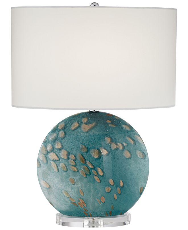 Pacific Coast Flat Oval Art Glass