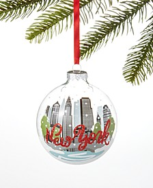 New York Buildings Ball Ornament, Created for Macy's