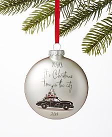 Holiday Lane New York 2019 Christmas Time Ball Ornament, Created For Macy's