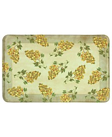 Golden Grapes Memory Foam Rug Collection