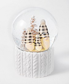 The Holiday Collection Three Gnomes Snowglobe, Created for Macy's