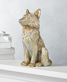 Midnight Blue Gold Fox Figure, Created for Macy's