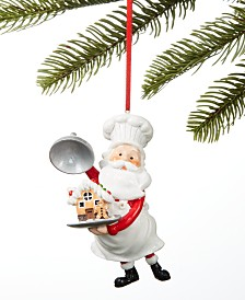 Holiday Lane Sweet Tooth Baker Santa Ornament, Created for Macy's