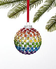 Love is Love Rainbow Ball Ornament, Created for Macy's