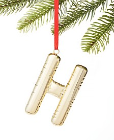 Holiday Lane Initials H Ornament, Created for Macy's