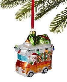 Lodge Santa Driving RV Ornament, Created For Macy's