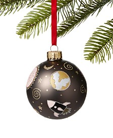 Holiday Lane Spaced Out Outerspace Ball Ornament, Created for Macy's