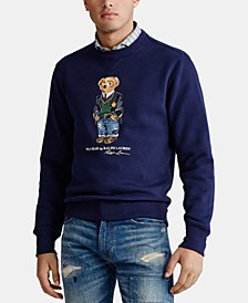 Men's Polo Bear Fleece Sweatshirt