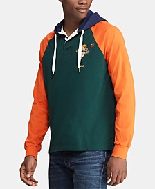 Polo Ralph Lauren Men's Rugby Bear Hooded Sweatshirt