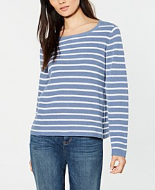Organic Cotton Striped Sweater