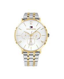 Womens Two-Tone Stainless Steel Bracelet Watch 40mm, Created for Macy's