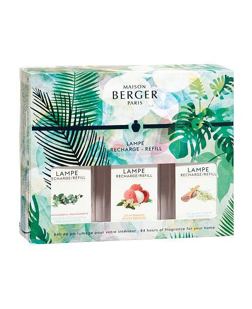 Maison Berger Paris Immersion Lamp Fragrance Trio Pack