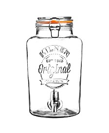 Kilner Clip Top 2.1 Gallon Drinks Dispenser
