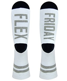 Sock Talk Men's Crew Socks - Flex Friday